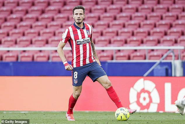 Saul has been on United's radar for a while and there is a belief a deal would cost around £45m