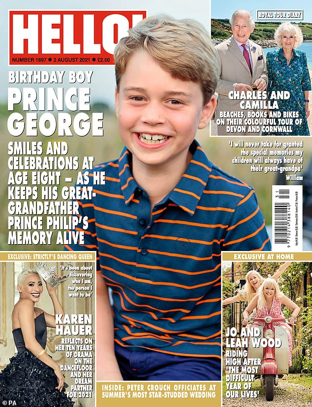 Interview:Read the full interview in Hello! magazine, out now