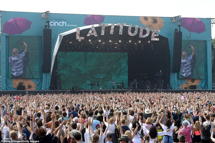 Latitude festivalgoers got to enjoy sets by Rudimental, Sea Girls, Nadia Rose and Kawala on Saturday evening with no masks or social distancing as tightly packed crowds of people danced along to upbeat music.