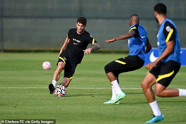 Th 22-year-old has so far made it through pre-season without a hitch as he builds fitness