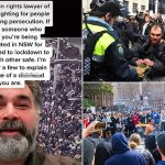 Human rights lawyer whose refugee grandparents fled genocide slams 'd***head' protesters 💥👩💥