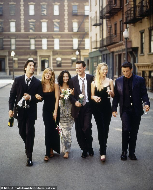 Emmy wins: Among the victories, Kudrow won the award for best supporting actress in a comedy series in 1998, and in 2002 Aniston won the award for best leading actress.