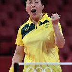 Australian Olympic underdog: Women's table tennis star Jian Fang Lay 💥💥