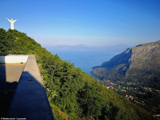 You'll know you've arrived at the village of Maratea in the rugged region of Basilicata when you spot the Christ the Redeemer statue (top left) looking down from the top of Monte San Biagio
