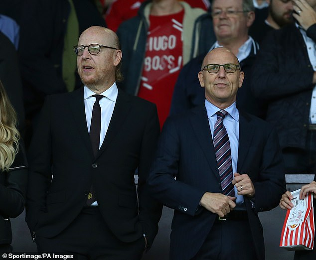 Joel Glazer (right) and brother Avram (left) have pledged to attend Man United fans' meetings