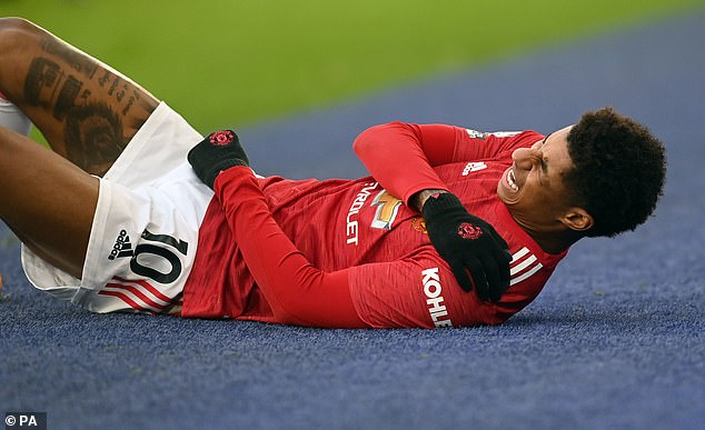Marcus Rashford is set for crunch talks with Manchester United over having shoulder surgery