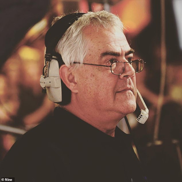 Legendary career:Lambert worked at Channel Nine's GTV Melbourne for five decades, and was the station's longest-serving employee prior to his retirement in 2019