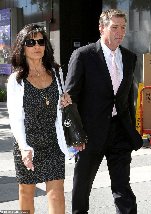 Lynne, pictured in 2012 with Jamie, stated her support for Britney to end the conservatorship over her in recent court filings reviewed by TMZ