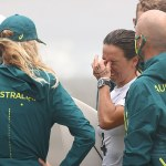 Australian surfing champion Sally Fitzgibbons breaks down after losing her shot at Olympic gold 💥👩💥
