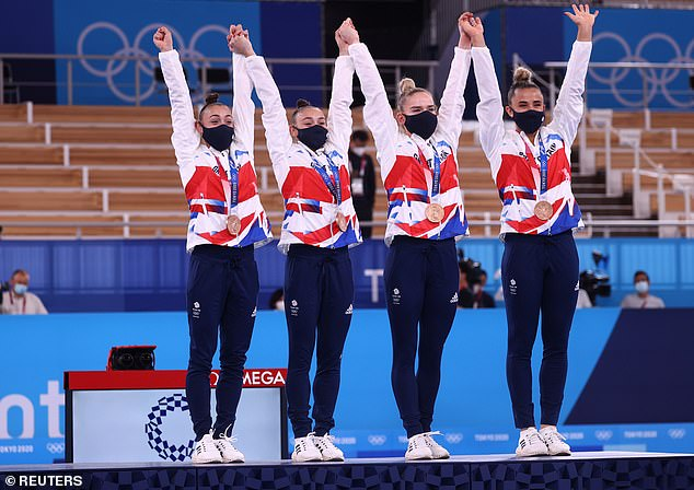 Great Britain produced an incredible fightback to claim a bronze medal in the gymnastics
