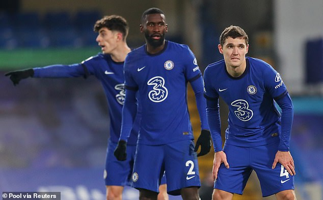 Antonio Rudiger and Andreas Christensen have just one year left on their current deals