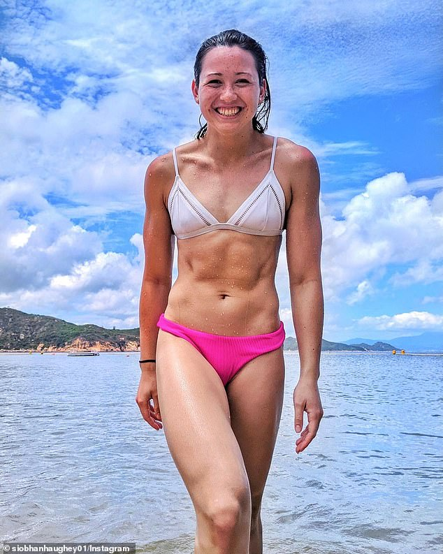 Hong Kong's queen of the pool (pictured) was born to an Irish father and Hong Kong mother
