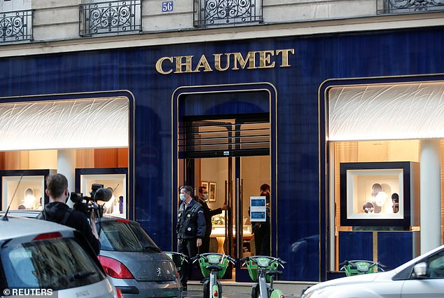 A source at Chaumont, which was founded as a jewellers and watchmakers in 1780 and which now has stores all over the world, later estimated the value of the loss at between 'two and three million euros'