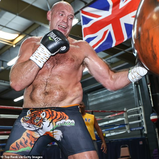 Tyson Fury's positive Covid test seemed 'fishy,' according to one of his own sparring partners