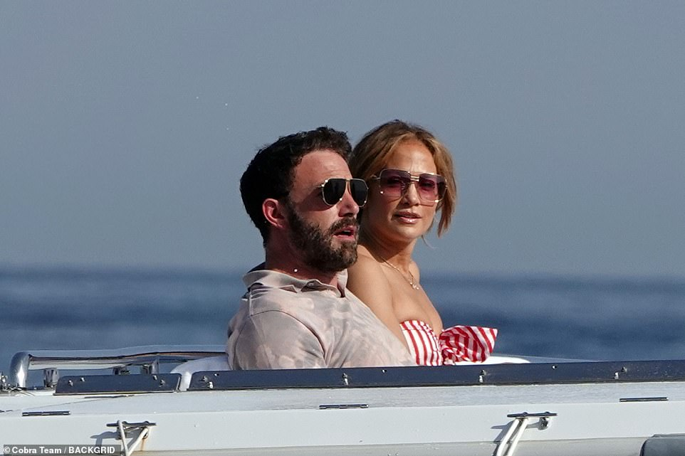 Boat in love: the return couple caused a sensation at the beginning of the week when they were seen in Saint-Tropez at the same time as his ex Alex Rodriguez