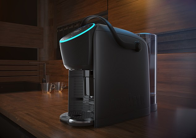 Lavazza has released the Lavazza A Modo Mio Voicy, which is the first-ever coffee machine that you can control via Amazon's Alexa voice assistant or via an app