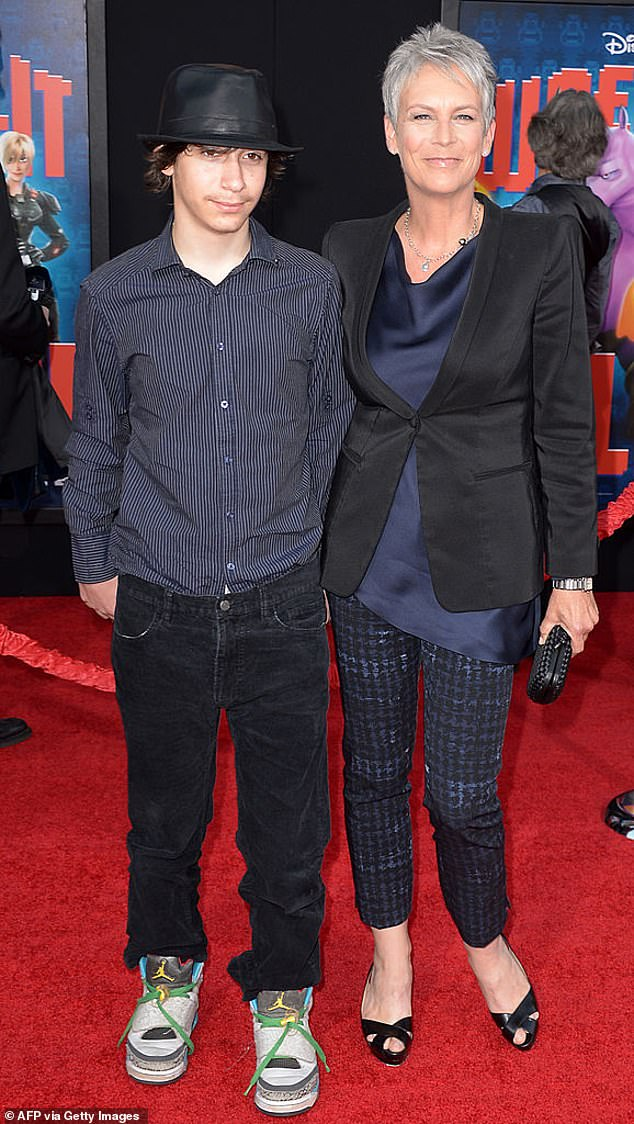 Ruby (left) attended the premiere of Wreck-It Ralph with Curtis in 2012