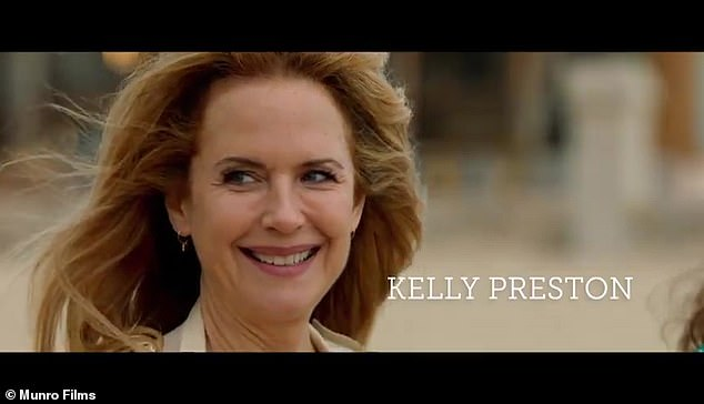 'She was very proud of it': The new role comes after John shared the trailer for Off The Rails, the final movie his late wife Kelly Preston starred in before her death at age 57 from breast cancer in 2020