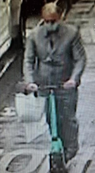 A besuited armed robber who stole more than £2million worth of jewellery from a Paris store has been arrested within 24 hours of escaping on an e-scooter