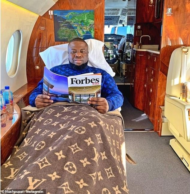 Abbas had amassed some 2.5million Instagram followers by flaunting images of his super-luxe lifestyle alongside motivational messages to 'never give up'
