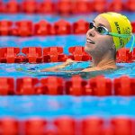 Australia drives home a BRONZE medal after heart-stopping finish in the mixed medley relay 💥👩💥