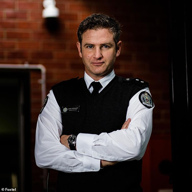 That's random! Bernard Curry, (pictured) who is best known for his role as Jake Stewart in Wentworth, and Hugo Austin in Home and Away, will also appear on the show