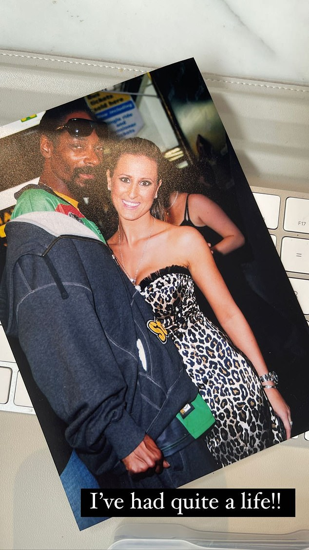 'I've had quite a life!!' Roxy Jacenko, 41, revealed some of her famous friends including Snoop Dogg (pictured) and Elton John in Instagram posts on Saturday