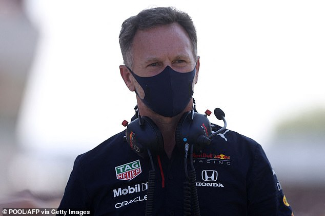 Christian Horner was furious as he branded Hamilton's manoeuvre an act of 'desperation'