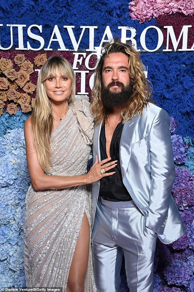Husband: Heidi and Tom secretly tied the knot in 2019 and she continued to speak out against criticism of their 17-year age gap