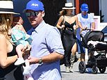 Kevin Connolly and his partner Zulay Henao step out with their baby daughter Kennedy