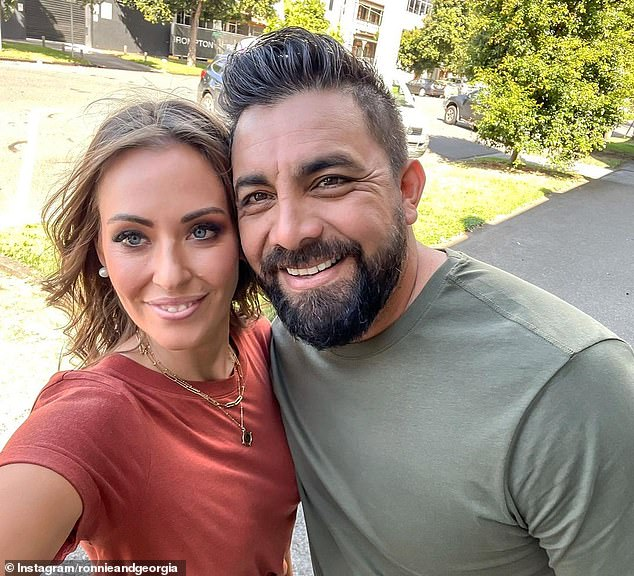 Ready to Win: The Block is back for 2021 with a star-studded cast.  And 2017 favorites Ronnie and Georgia Caceres (both pictured) from Perth are back - and this time they're here to win.