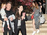 Gordon Ramsay steps out for dinner with son Oscar and family
