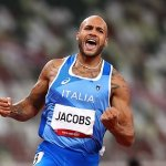 Italy's Lamont Marcell 'crazy' Jacobs becomes first man to win 100m other than Usain Bolt since 2004💥👩💥💥👩💥