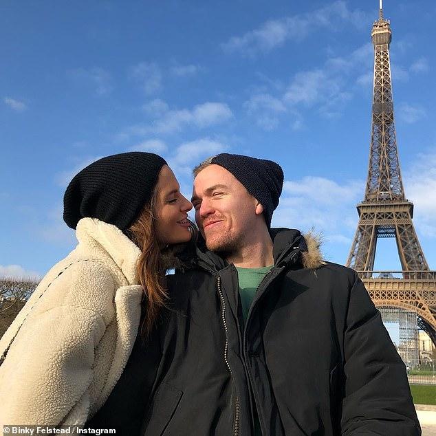 Binky Felstead is married! Made In Chelsea star and fiancé Max Fredrik Darnton tie the knot