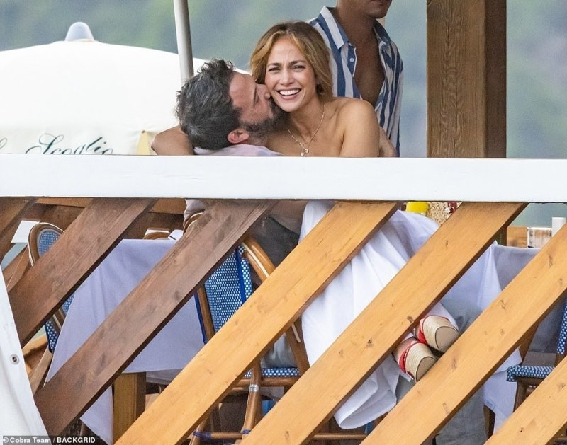 Back together: Jennifer and Ben haven't been shy about showing their affection towards each other amid their romantic European holiday
