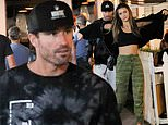 Brody Jenner steps out with mystery brunette in Malibu