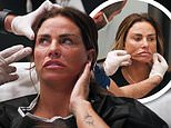Katie Price shares her fourth face lift in a YouTube video after filming the cosmetic surgery