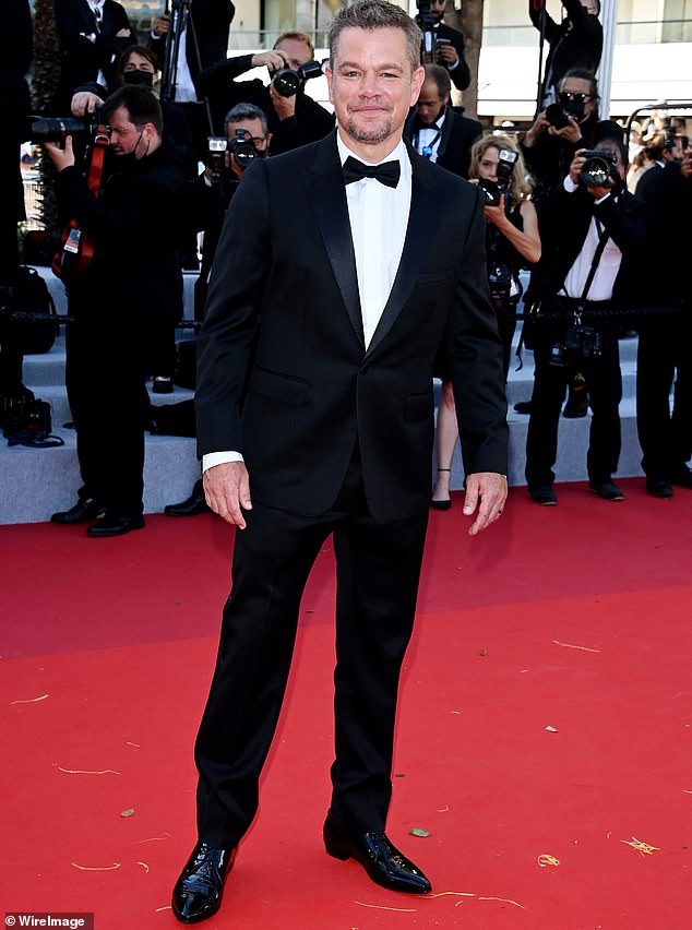 Done with that word:Matt Damon admitted that he used to use a homophobic slur once in a while. But when one of his daughters urged him to stop, explaining it was offensive, he decided to hang it up, the Last Duel shared this weekend. Seen July 8 in Cannes