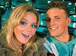 Reese Witherspoon's daughter Ava Phillippe, 21, poses with her beau Owen