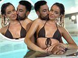 Maura Higgins and Giovanni Pernice look every inch the loved-up pair in a sultry pool snap