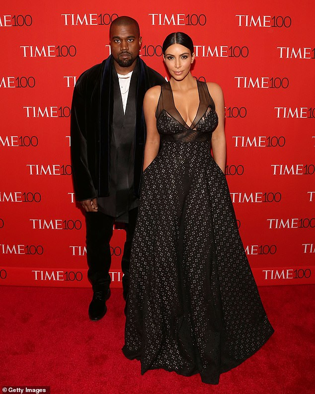 Still KKW?Despite speculation the change is because Kim is dropping the West from her name after splitting from husband Kanye West - the father of her four children - earlier this year, sources told TMZ that isn't the case and she currently has no plans to alter her moniker. Seen with the rapper in 2015