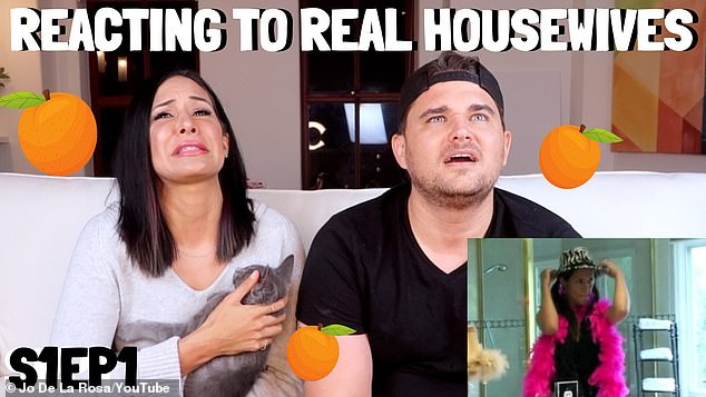 Anything for views! Jo and Taran will relive the ill-fated romance all over again when they react to old episodes of her reality show on her YouTube vlog