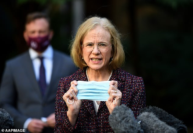 Queensland's chief health officer Jeannette Young said she still did not know how the virus had been transmitted from two overseas travellers to the family of an Indooroopilly State High School student