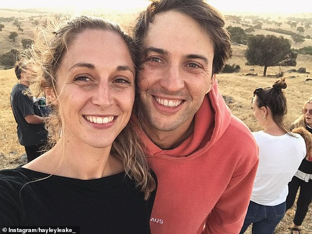 Sweet:Hayley Leake is set to marry her boyfriend, Jimmy Meegan. The Survivor: Brains V Brawn star shared the good news with TV Week 's latest issue, revealing there was no grand proposal. Both pictured
