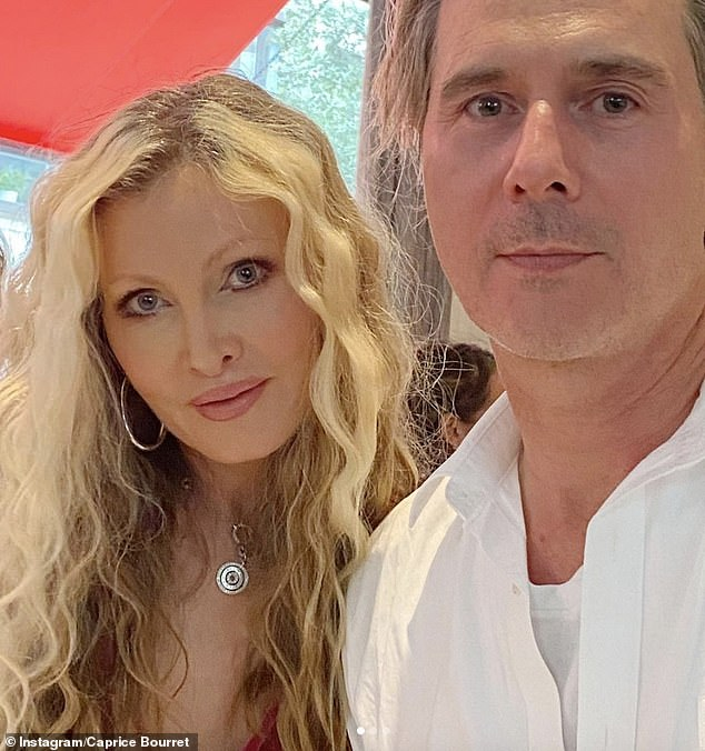 Hitting back: Caprice Bourret, 49, has hit back at Ulrika Jonsson's criticism of her advising women 'not to say no' to having sex with their husbands in a recent interview
