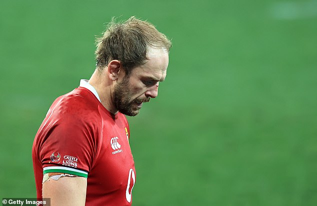 Lions captain Alun Wyn Jones accepted that his side were outplayed in the second test
