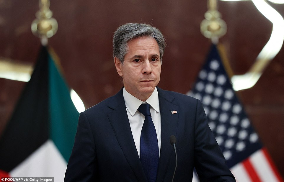 U.S. Secretary of State Antony Blinken said he is 'confident' that Iran conducted attack on the Israeli oil tanker