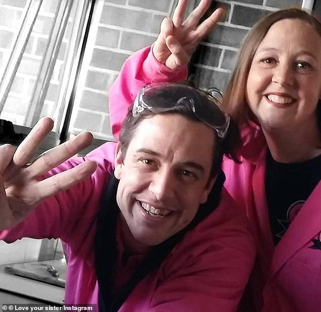 Sweet charity: Samuel started the cancer research charity, Love Your Sister, back in 2012 with his late sister, Connie (right), who succumbed to breast cancer in 2017