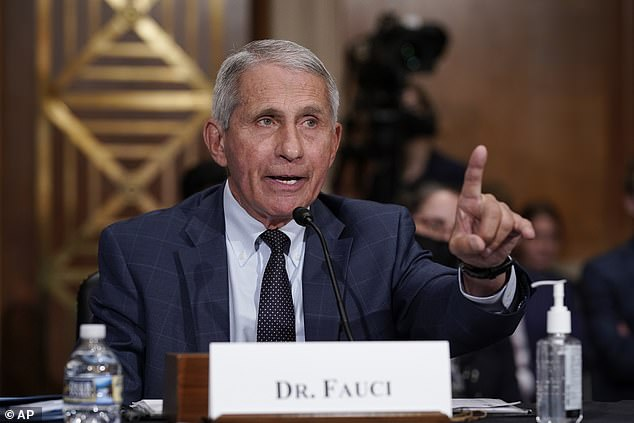 'Things are going to get worse,' said the country's top infectious disease expert Dr Anthony Fauci