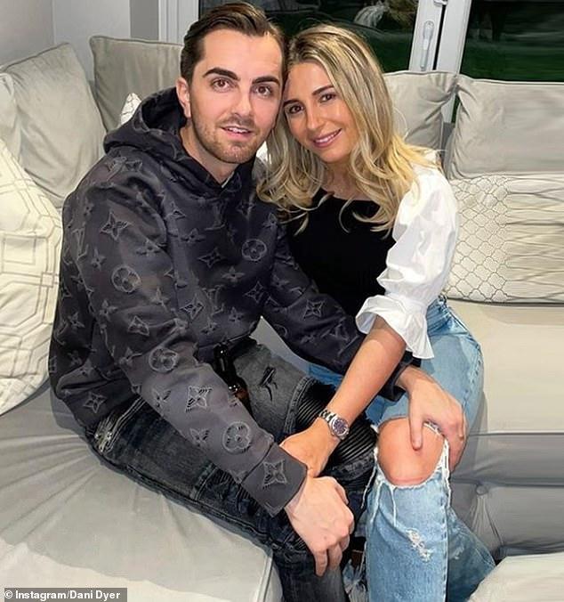 Hurt: Dani split from boyfriend Sammy last month when she was sentenced to three years in prison (Dani and Sammy pictured last year)